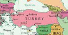 Map: Borders of Turkey